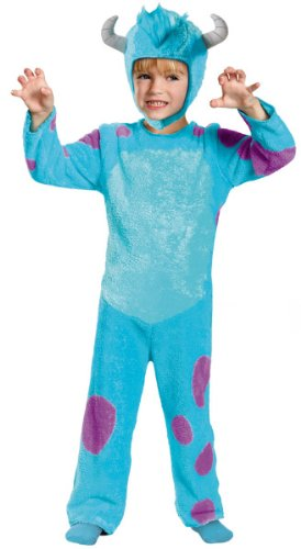 Toddler Classic Sulley Costumes (Sulley Toddler Classic Costume - Toddler Large)