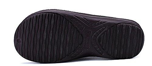 Hombres de Chancletas los 40 Cool interior Chanclas moda Tide XIE Sandalias la de de hombres Zapatillas black 44 Cool 5YqwHEd