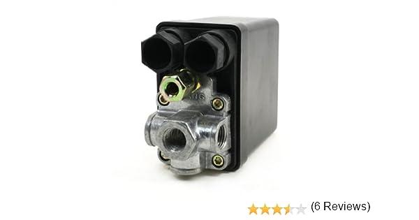 Sourcingmap A13110600Ux0500 Interruptor del Compresor de Aire: Amazon.es: Bricolaje y herramientas