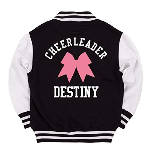 FUNNYSHIRTS.ORG Cheerleader Destiny Kids Jacket: Youth Varsity Letterman Jacket