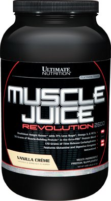 Ultimate Nutrition Muscle Juice Revolution 2600, Vanilla Cream, 4.69 Pound by Ultimate Nutrition