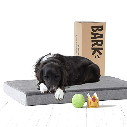 BarkBox Large Gray 3' Tall Pressure-Relief...