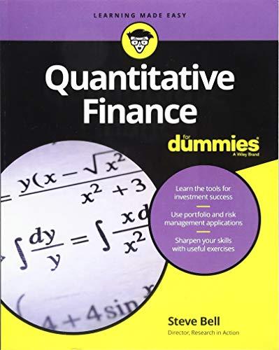 (Quantitative Finance for Dummies)