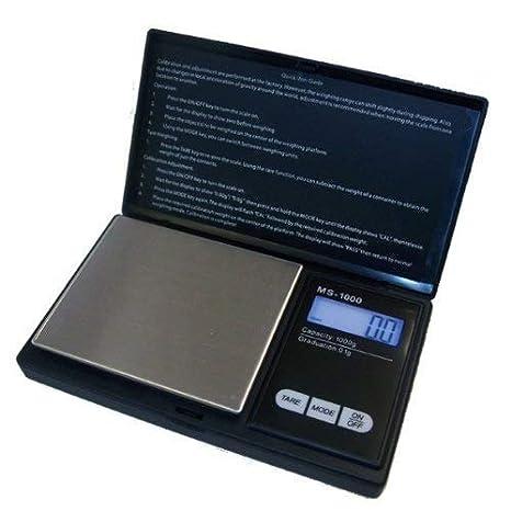 G&G - Báscula digital de precisión - Peso máximo: 200 g / Granularidad: 0