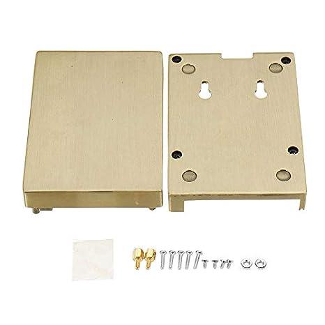 Anddod - Carcasa de Aluminio para Raspberry Pi 3 Pi 2 B+: ...