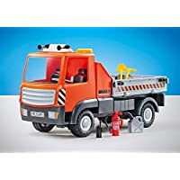 Playmobil Add ons Construction Flatbed Truck