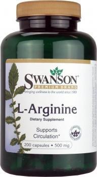 L-Arginina 500 mg 200 Caps