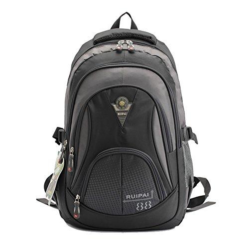 Heavy Duty Durable Kids School Book Bag Backpack for Boys Grey