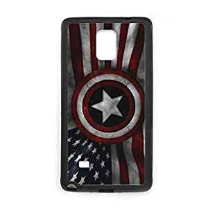 Generic Print With Captain America Tpu Hard Plastic Phone Case For Boy For Samsung Note4 Choose Design 3