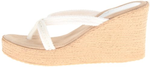 Sbicca Sandal White Women's Wedge Jewel xqapn6g