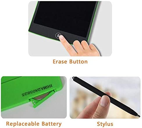 Black 8.5 inch LCD Writing Tablet Drawing Board by CELI USA Blackboard Handwriting Pads Gift for Kids Paperless Notepad Tablets Memo with Upgraded Pen