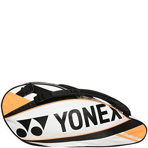Yonex Schlägertaschen Pro Racket Thermobag 6er, Weiß, 78 x 25 x 35.5 cm, 60 Liter, 0193280136400000
