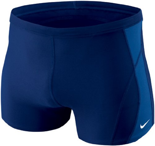 Nike Men's Poly Core Solids Square Leg Swimsuit 26 Midnight Navy