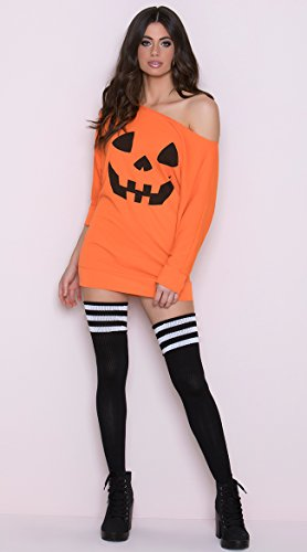 Leg Avenue Women's Costume, Orange Pumpkin,