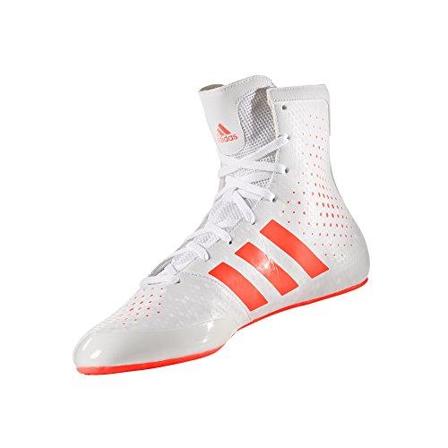 Blanco 16 Unisex Legend Zapatos De Boxeo rojo Adidas Ko 2 Adulto RxPwqEE1z