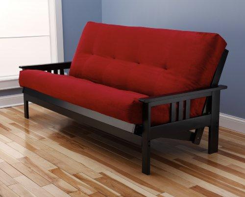 woodbury-full-size-futon-sofa-with-suede-innerspring-mattress-black-painted-hardwood-frame-red