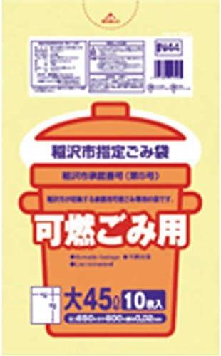 稲沢市 不燃30L手付10枚入透明 IN32 【まとめ買い(60袋×5ケース)合計300袋セット】 38-577