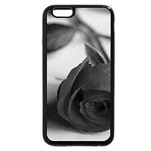 iPhone 6S Plus Case, iPhone 6 Plus Case (Black & White) - Flower Delivery