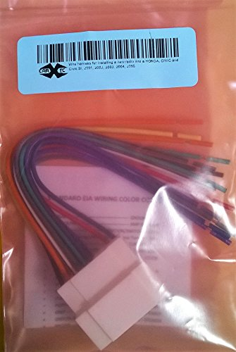 41C3y337W1L amazon com wire harness for installing a new radio into a honda 05 Civic Si at edmiracle.co