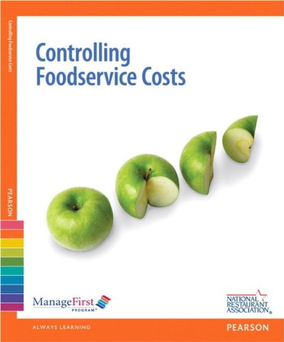 Managefirst: Controlling Foodservice Costs with Answer Sheet