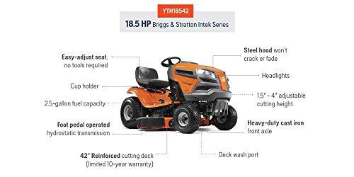 Husqvarna GTH52XLS 52″ Riding Lawn Mower Review   Lawn Mower Review