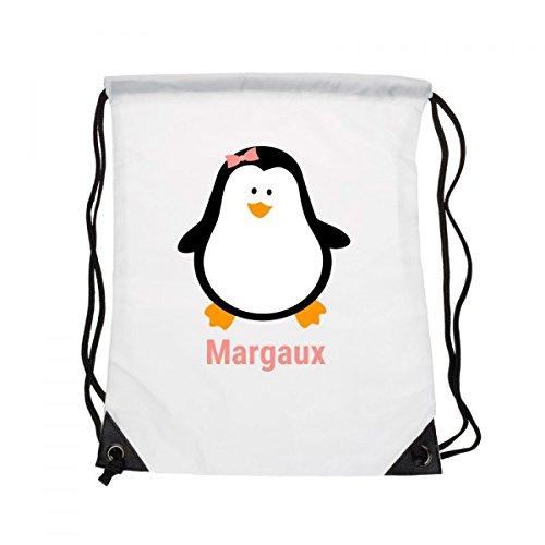 Sacchetto Bambini cognome: pinguino