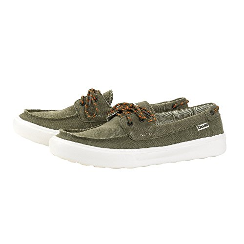 Canvas Green Men's Shoes Shoe Kola Deck Dude Musk wq4nIx5C