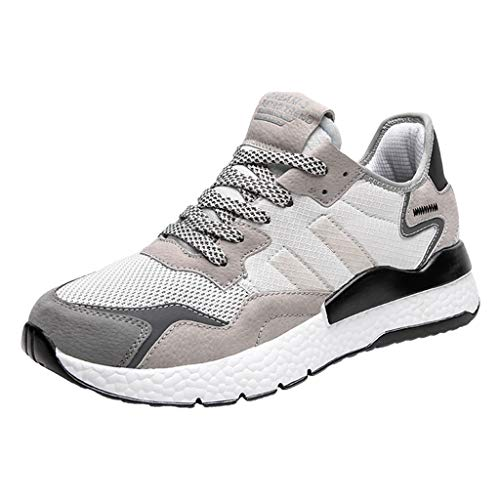 - Yucode Mens Mesh Ultra Breathable Athletic Running Shoes Sneakers Lightweight Athletic Tennis Sport Shoe White