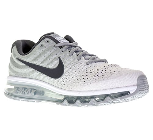 Nike Men's Air Max 2017, White/Dark Grey-Wolf Grey, Size 11 (Cheap Nike Air Max For Sale Uk)