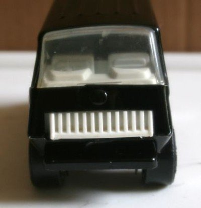 1979's Tonka Metal Black Van with Stripes Model #55450 (Van Tonka)
