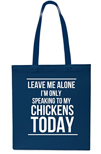 Today Speaking Me Only Bag 42cm Alone 10 My litres Beach To MAROON x38cm Tote Shopping NAVY Chickens Leave Gym I'm qAwF8Fx