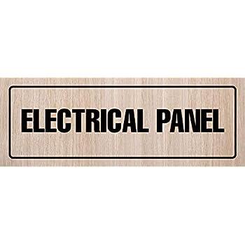 Amazon.com: Standard eléctricos Panel de la puerta/pared ...