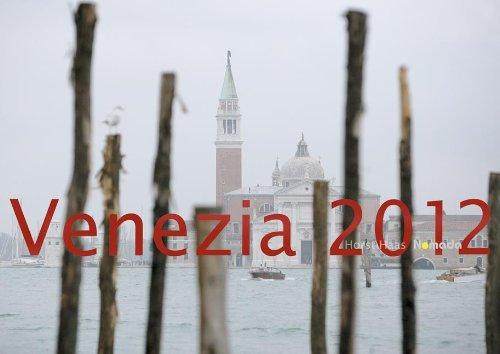 Venezia 2012 - Wandkalender