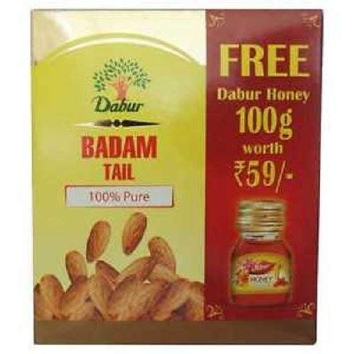 Badam Tail - 100 ml with Free Dabur Honey - 100 g by Dabur ayurvedic