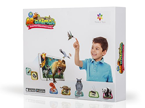 3D Animal Flash Cards. Introduction to Dinosaurs, Land and S