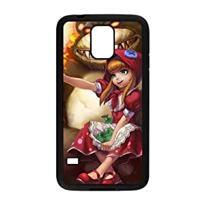 Samsung Galaxy S5 Cell Phone Case Black League of Legends Red Riding Annie KWI8879385KSL