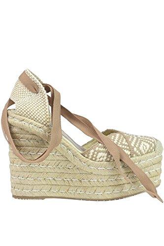 Palomitas Zapatos de Vestir Para Mujer Beige Beige It - Marke Größe