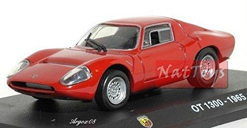 EDICOLA Hachette Abarth Collection OT 1300 1965 Die Cast 1:43 Model Scale + Box Compatible con