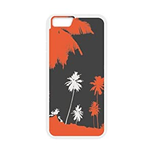 super shining day Cellphone Accessories Tropical Palm Tree Apple 4.7