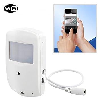 HaWoTEC P2P WIFI W Lan HD de vigilancia en detector de movimiento PIR sensor con visión