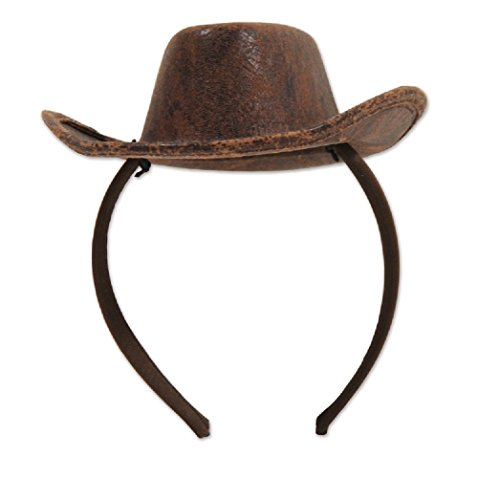 Bstl Co Western Cowboy Hat Headband children/Adults Party Favor (Kid Cowboy Party Favors)