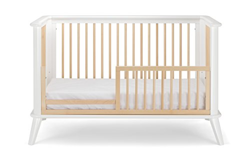 Pali Leone Toddler Rail Natural - Conversion Option for Leone Crib by Pali