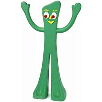 Pet Supplies : Pet Squeak Toys : Gumby Rubber Dog Toy 9 In