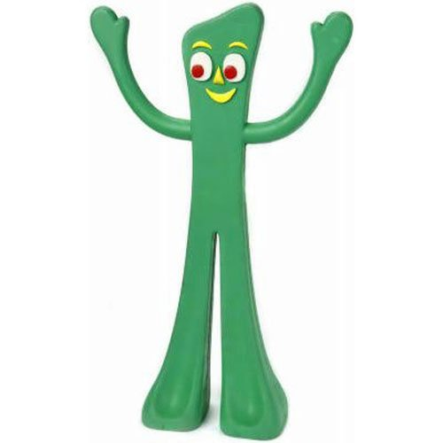Gumby Rubber Dog Toy 9 In