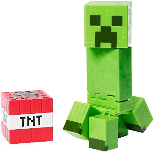 Minecraft Exploding Creeper Redeco Action Figure - Series 5