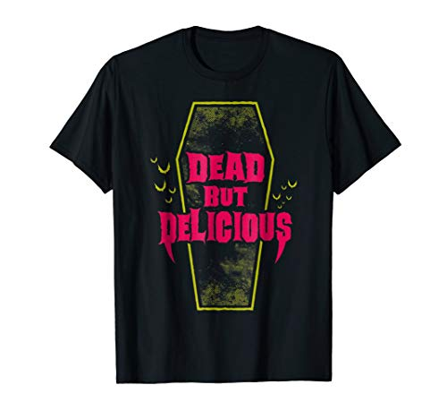 Dead But Delicious - Vampire Goth Coffin T-shirt