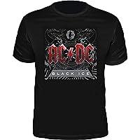 Camiseta AC/DC Black Ice Album