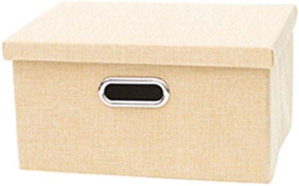 Caja de Almacenamiento de Tela con Tapa, Caja de Almacenamiento de Juguetes, Caja de Almacenamiento de Juguetes: Amazon.es: Hogar