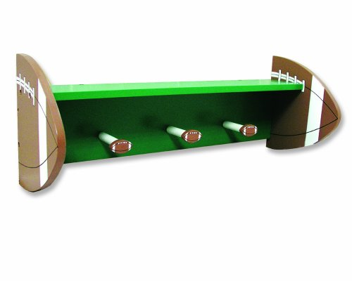 Trend Lab Football Shelf with Peg (Football Wall Shelf)