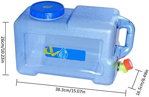 conteneur de Stockage deau de Voiture Seau deau en Plastique /épaissi avec Robinet//Couvercle//poign/ée Baril deau Industriel ext/érieur ZZR Grand r/éservoir deau